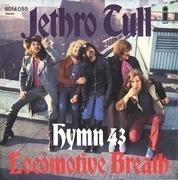 7inch Vinyl Single - Jethro Tull - Hymn 43 / Locomotive Breath - On Pink Island label!