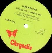 Double LP - Jethro Tull - Living In The Past - UK ORIGINAL
