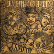 LP - Jethro Tull - Stand Up - First Eye UK, Gimmick