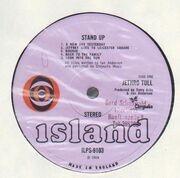 LP - Jethro Tull - Stand Up - Pink Bullseye