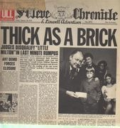 LP - Jethro Tull - Thick As A Brick - NEWSPAPER SLEEVE