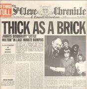 LP - Jethro Tull - Thick As A Brick - Still sealed