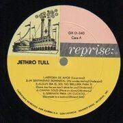 LP - Jethro Tull - Jethro Tull - Original Mexican