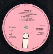 LP - Jethro Tull - Stand Up - Gimmick Cover. Pink Island