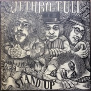 LP - Jethro Tull - Stand Up - 3rd Label