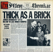 LP - Jethro Tull - Thick As A Brick - Newspaper