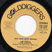 7inch Vinyl Single - Jim Croce - Bad, Bad Leroy Brown / I'll Have To Say I Love You In A Song