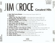 CD - Jim Croce - Greatest Hits