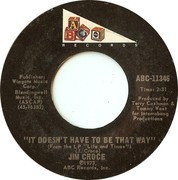 7inch Vinyl Single - Jim Croce - One Less Set Of Footsteps