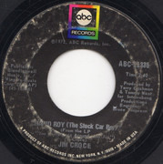 7inch Vinyl Single - Jim Croce - Operator (That's Not The Way It Feels) / Rapid Roy (The Stock Car Boy) - Terre Haute Pressing