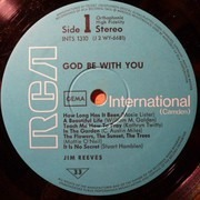 LP - Jim Reeves - God Be With You