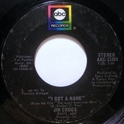 7inch Vinyl Single - Jim Croce - I Got A Name / Alabama Rain