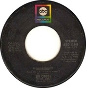 7inch Vinyl Single - Jim Croce - Workin' At The Car Wash Blues / Thursday