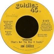 7inch Vinyl Single - Jim Croce - You Don't Mess Around With Jim
