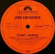 LP - Jimi Hendrix - Crash Landing