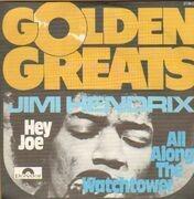 7inch Vinyl Single - Jimi Hendrix - Hey Joe / All Along The Watchtower