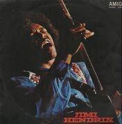 LP - Jimi Hendrix - Amiga-Edition - red labels