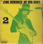 LP - Jimi Hendrix - Jimi Hendrix At His Best Volume 2
