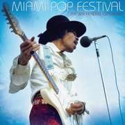 Double LP - Jimi Hendrix - Miami Pop Festival - 200 Gram LP's & Booklet