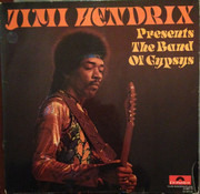 LP - Jimi Hendrix - Presents The Band Of Gypsys
