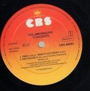 Double LP - Jimi Hendrix - The Jimi Hendrix Concerts
