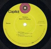 LP - Jimi Hendrix - Band of Gypsys - Original US