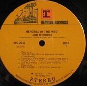 LP - Jimi Hendrix - Hendrix In The West - Gatefold