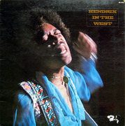 LP - Jimi Hendrix - Hendrix In The West - France