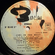 LP - Jimi Hendrix - Hendrix In The West - France