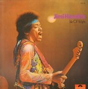LP - Jimi Hendrix - Isle Of Wight - Original German