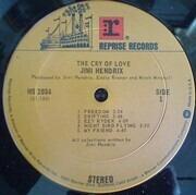 LP - Jimi Hendrix - The Cry Of Love - WEA