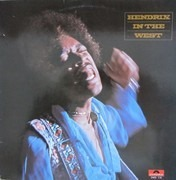 LP - Jimi Hendrix - Hendrix In The West
