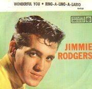 7inch Vinyl Single - Jimmie Rodgers - Wonderful You