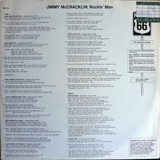 LP - Jimmy McCracklin And His Blues Blasters - Rockin' Man