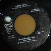 7inch Vinyl Single - Jimmy Page - Wasting My Time