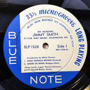 LP - Jimmy Smith - At Club 'Baby Grand' Wilmington, Delaware, Volume 1 - Mono Original