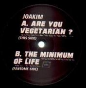 12inch Vinyl Single - Joakim - Are You Vegetarian ? / The Minimum Of Life