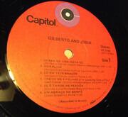 LP - João Gilberto & Antonio Carlos Jobim - Gilberto & Jobim