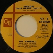 7inch Vinyl Single - Joe Farrell featuring John McLaughlin - Follow Your Heart (Parts 1 & 2)