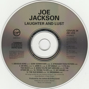 CD - Joe Jackson - Laughter & Lust