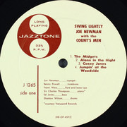 LP - Joe Newman And The Count's Men / Ruby Braff And His Big City Six - Swing Lightly