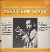 LP - Joe Newman / Sir Charles Thompson - Jazz Basie Style