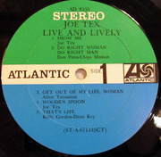 LP - Joe Tex - Live And Lively - Terre Haute Pressing