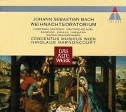 Double CD - Johann Sebastian Bach - Paul Esswood , Kurt Equiluz , Siegmund Nimsgern , Die Wiener Sängerknaben , - Weihnachtsoratorium