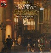 LP - Johann Sebastian Bach - Piet Van Egmond - Bekannte Orgelstücke