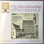 Double LP - J.S. Bach - Münchinger - Die Kunst Der Fuge - Hardcoverbox + Booklet