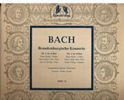10'' - Johann Sebastian Bach - Winterthur Symphony Orchestra , Walter Goehr - Brandenburgische Konzerte
