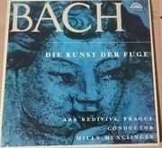 Double LP - Bach/ Ars Rediviva Ensemble , Milan Munclinger - Die Kunst der Fuge - booklet