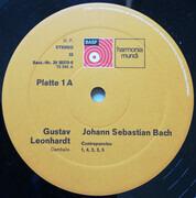LP-Box - Johann Sebastian Bach , Cembalo: Gustav Leonhardt - Die Kunst Der Fuge
