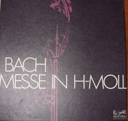LP-Box - Bach - Messe In H-Moll - Hardcoverbox + booklet